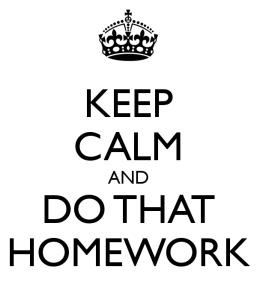 Homework is not Evil, You Just Need to Do it RIGHT!