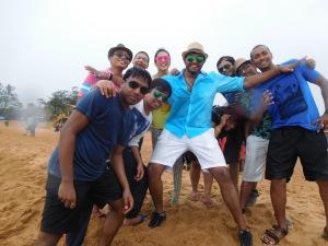 beach vollyball team